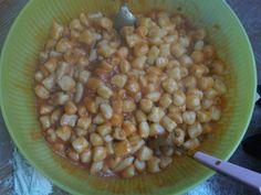 Gnocchi di patate con sugo al ragù