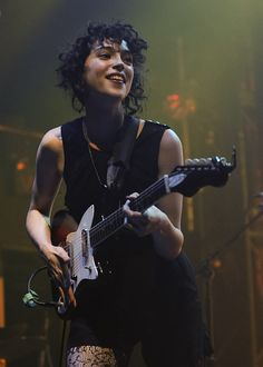 I might just be a copy cat and get my hair cut kind of like Annie Clark from St. Vincent...