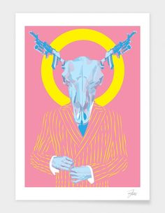 "Curioos.com | ""Business"" by joe murtagh Limited Edition  - Gallery Quality Art Print"