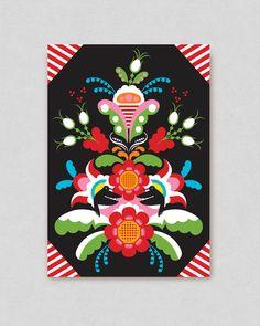 Gemini Friends Postcard By Hanna Werning | Lagom Design