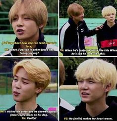 Yoongi is only soft for Min Holly and if that's not the cutest shit you've ever heard then don't talk to me