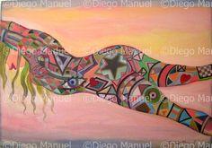 Chica tatuada 2 . By Diego Manuel