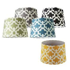 Paint your own lamp shade yellow lamp shades target and bedrooms target threshold flocked lamp shade collection would prefer the opposite color pattern for aloadofball Gallery