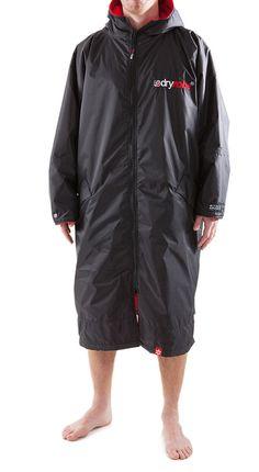 Dryrobe long sleeve LS - Zip front Poncho - Change robe