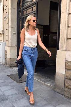 Street Style Summer #jeans #streetstyle #fashion