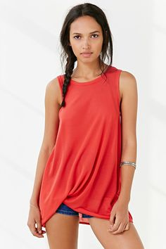Project Social T Side-Tuck Muscle Tee