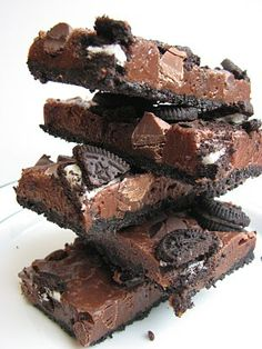 Double Chocolate Cookie Bars