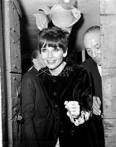 Audrey Hepburn photographed by Elio Sorci after a masquerade at a night club in Rome (Italy), in February 1968.