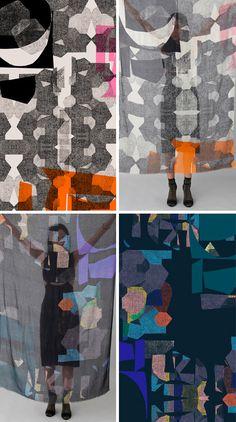 Pattern Pulp - Helen Dealtry's World of Textiles by shelia Graphic Patterns, Textile Patterns, Textile Prints, Textile Design, Color Patterns, Fabric Design, Print Patterns, Lace Patterns, Design Art