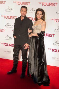 Angelina Jolie and Brad Pitt travel the globe for The Tourist