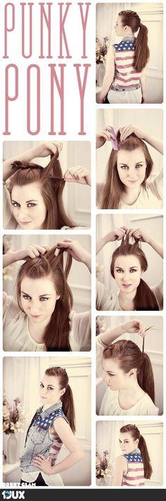 Hair tutorial Pony