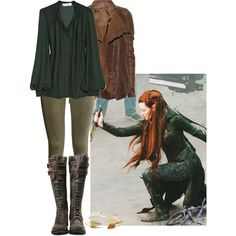 """""""Tauriel Outfit"""" by medicatewithtea on Polyvore"""