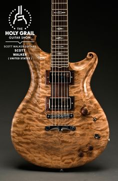 Exhibitor at The Holy Grail Guitar Show 2014:  Scott Walker, Scott Walker Guitars, United States  http://www.scottwalkerguitars.com https://www.facebook.com/ScottWalkerCustomGuitars http://holygrailguitarshow.com