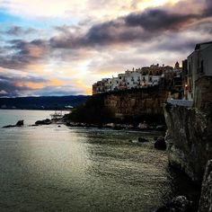 Some vacation inspiration from a recent trip to Southern Italy. This is the charming town of #Vieste . #Italy #southernitaly #vacation #vacationinspiration #inspiration #travel #travelphoto #italytravel #europe #europetravel #holiday #trip #italyholiday #italytrip #europetrip #europeholiday #instatravel #look #colourful #nice #cool #heart #love #travelforlife #create #createlivelove #artist #artistlife #artlife #travelabroad