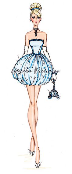 The Disney Diva's collection by Hayden Williams: Cinderella by Fashion_Luva, via Flickr