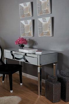 Miro Mirrored Desk
