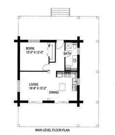 Small Cottages Under 600 Sq Feet Panther 89 With Loft