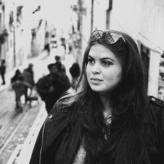 Thinking #blackandwhite #photography #blogger #curvyblogger #curvy #plussize #curvymodel #globetrotter #lisbon #lisboa #portugal