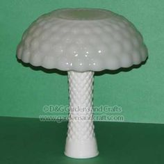 glass garden mushroom
