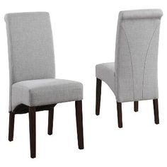 Avalon Deluxe Parson Dining Chair (Set of 2) - Simpli Home