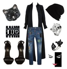"""""""Untitled #6"""" by majka-priroda-panevska ❤ liked on Polyvore featuring Alaïa, Dsquared2, SCHA, Yves Saint Laurent, Chanel, Gucci and Accessorize"""