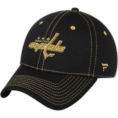 Washington Capitals Fanatics Branded Women s Jewel Adjustable Hat Black  WashingtonCapitals  Washington Capitals Hat dd3f1673dc