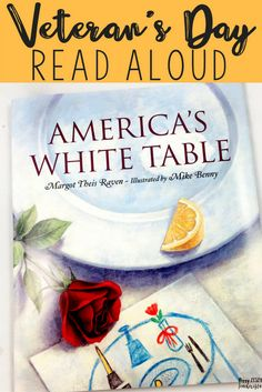 Katie's family has arranged the table according to the symbolic ritual intended to remember and honor the U.S military's personnel who are missing in action, or are prisoners of war. In the book, Katie's mother explains how each item as a symbolic meaning.     Regardless of how you feel about way, this book will increase awareness of the sacrifice of soldiers, and the plight of the missing prisoners.