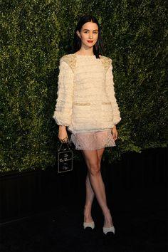 Julia Goldani Telles in Chanel