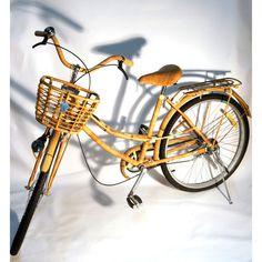 Rattan & Bamboo Bike design inspiration on Fab.