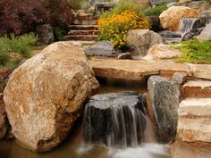 Love water features!