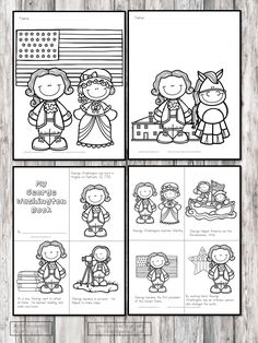 Are you teaching about George Washington for President's Day or perhaps some other time? You'll love these George Washington Kindergarten Worksheets Informations About Four Free George Washington Kind George Washington Cartoon, Young George Washington, George Washington Costume, George Washington Pictures, Washington Art, Washington University, George Washington Preschool, Washington Tattoo, George Washington Carver