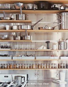 Construindo Minha Casa Clean: Despensa