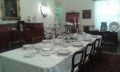 Mesa de Natal na Casa-Museu Frederico de Freitas.