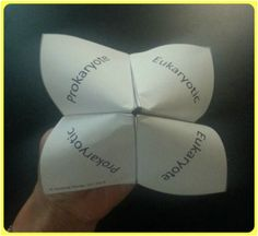 Cootie Catchers are a hands on study tool that my middle school students LOVE