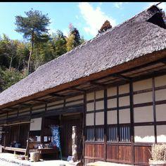 japanese old style farmer's house
