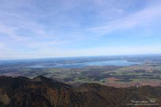 Chiemgau ( you can see the Chiemsee)