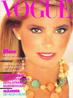Kelly Emberg  -  Vogue Germany July 1980