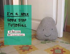 DIY I'm A Rock Doorstop