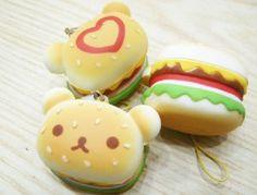 Squishies--Bear burgers