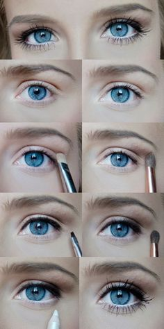 Maquillaje para tener ojos más grandes | http://fotos.soymoda.net/maquillaje-para-tener-ojos-mas-grandes/
