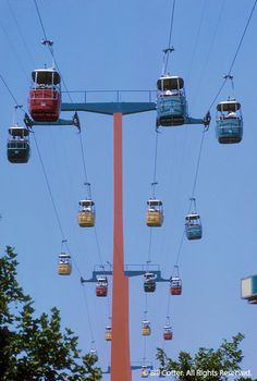 Swiss Sky Ride at 1964 World's Fair