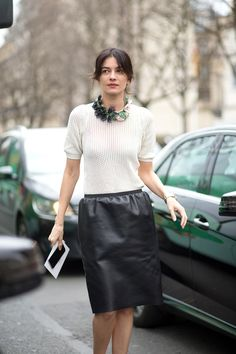 See the best street style looks from Paris Fashion Week: Cool Street Fashion, Street Chic, Paris Fashion, Autumn Fashion, Autumn Street Style, Street Style Looks, Street Style Women, Leila Yavari, Divas