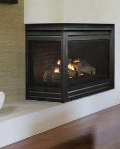 Consider these gas fireplaces for warmth and energy savings, certainly, but also for their red-hot style.