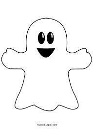 Risultati immagini per disegni di fantasmi Dulceros Halloween, Moldes Halloween, Halloween Templates, Halloween Crafts For Kids, Halloween Pictures, Cute Halloween Decorations, Cute Little Drawings, Monster, Coloring