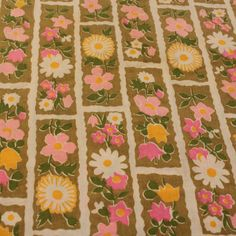 Adorable Flawed Vintage Cotton Fabric 1 3/4 by TheTinThimble