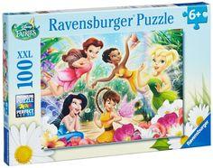 Ravensburger Puzzle - Disney My Fairies XXL (100Pcs) (10972)  Manufacturer: Ravensburger Enarxis Code: 016048 #toys #puzzle #Ravensburger #Disney #fairies