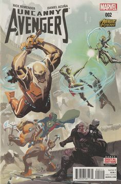 Counter-Evolutionary, pt. 2__Written by Rick Remender. Art and Cover by Daniel Acuña ..Welcome to Counter-Earth, where the future of your species is being developed by crack evolutionists. A better fu