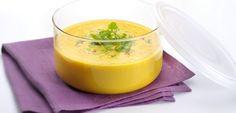 Crème de carottes à la coriandre