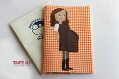 Mutterpasshülle /Mutterpass - ein Designerstück von TanteRoe