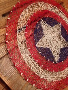 Custom made string art! Names, logos and symbols!